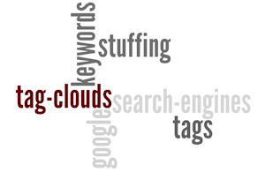 Tag clouds can be viewed as keyword spamming