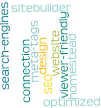 website design word cloud