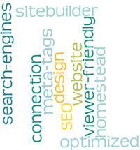 website design word cloud